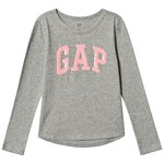 Gap V-Gap Flp Ls T B10 Grey Heather