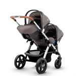 Silver Cross Wave Stroller and Carrycot  Sable