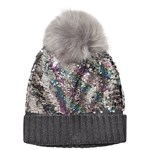 Gap G Flip Seq Hat Pewter Grey