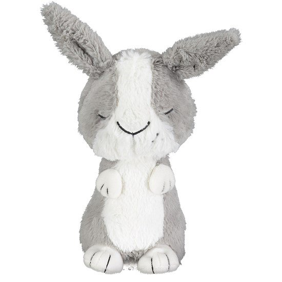 Geggamoja Tove the rabbit Grey/white