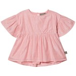 Creamie Silver Stripe Bluse Pink Icing