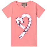 Creamie T-Shirt Sequins SS Pink Icing