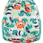 Close Single Nappy Newborn 2-5,5 kg Printed Red Panda