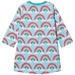 Hatley Magical Rainbows Natkjole Aqua