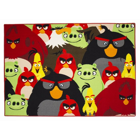 Associated Weaver Angry Birds, Tæppe, Group, 95 x 133 cm