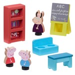 Peppa Pig Wooden Play School Hus Hvid