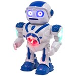 Play Space Warrior Robot Hvid