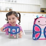Skip Hop Zoo Steel Lunch Kit Butterfly