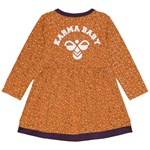Hummel Dory Print Kjole Orange