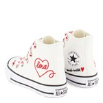 Converse Made with Love Chuck Taylor All Star Hi Tops Sneakere Hvide
