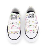 Converse White Gamer Chuck Taylor All Star OX Trainers
