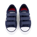 Converse Navy & Red Star Player 3V Trainers