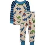 Hatley Friendly Dinos Pyjamas Blå